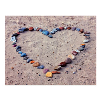 Heart of Stones Postcard
