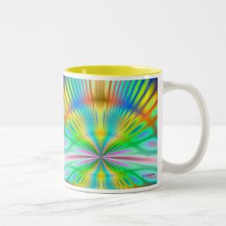 Heart of Sunrise Two-Tone Coffee Mug