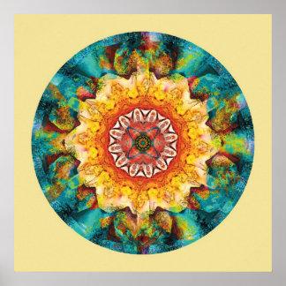 Heart of Surrender Mandala 4 Poster