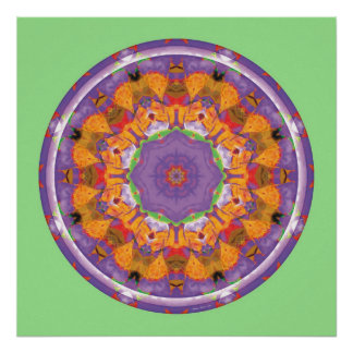 Heart of Surrender Mandala 7 Poster