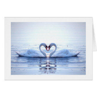Heart of Swans Card