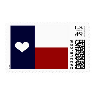Heart of Texas Postage Stamps
