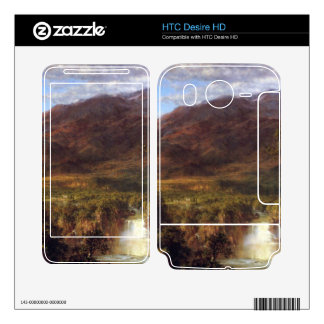 Heart of the Andes by Frederic Edwin Church HTC Desire HD Decals
