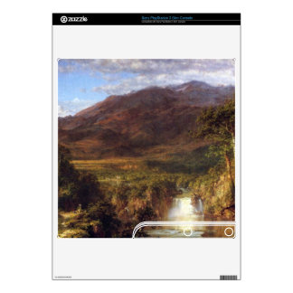 Heart of the Andes by Frederic Edwin Church Decals For The PS3 Slim