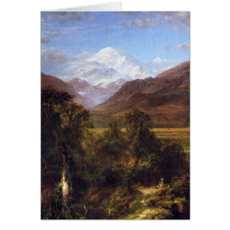Heart of the Andes by Frederick Edwin Church Card