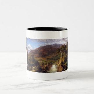 Heart of the Andes by Frederick Edwin Church Two-Tone Coffee Mug