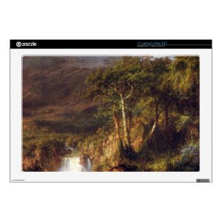 Heart of the Andes Detail by Frederic Edwin Church Decal For Laptop