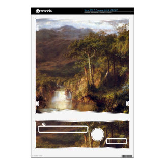 Heart of the Andes Detail by Frederic Edwin Church Decal For The Xbox 360 S