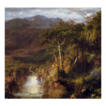 Heart of the Andes Detail by Frederic Edwin Church Poster