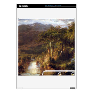 Heart of the Andes Detail by Frederic Edwin Church Skin For The PS3 Slim