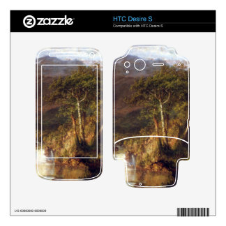 Heart of the Andes Detail by Frederic Edwin Church HTC Desire S Decals