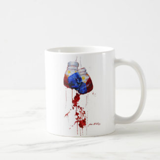 Heart of the Filipino Warrior Classic White Coffee Mug