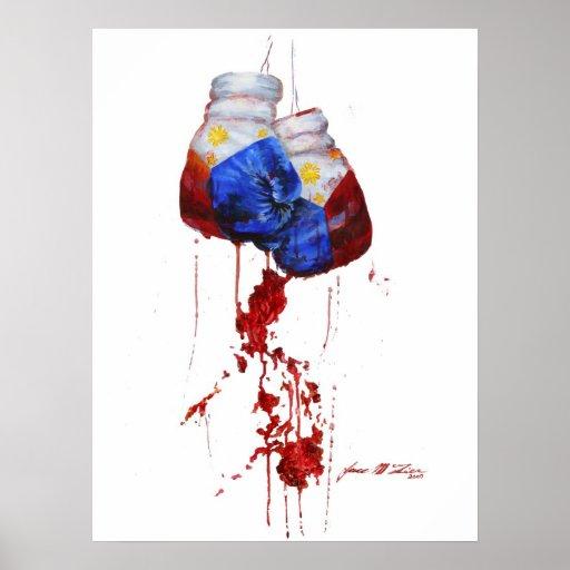 Heart of the Filipino Warrior Poster