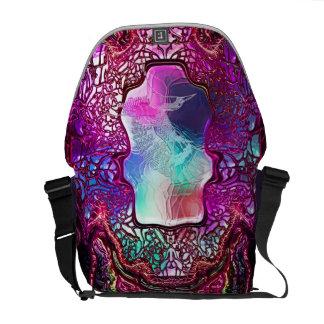 Heart of the Hummingbird - Rickshaw Messenger Bag