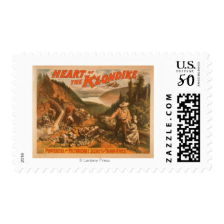 Heart of the Klondike Gold Mining Theatre 2 Postage