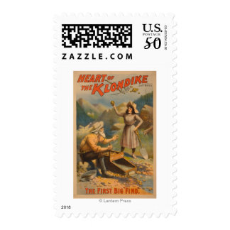 Heart of the Klondike Gold Mining Theatre Postage
