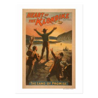 "Heart of the Klondike ""Land of Promise"" Mining Postcard"