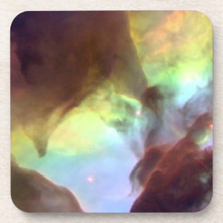 Heart of the Lagoon Nebula Beverage Coaster