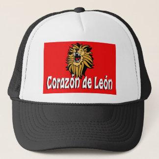 HEART OF THE LION TRUCKER HAT