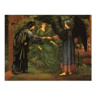 Heart of the Rose - Edward Burne-Jones Postcard