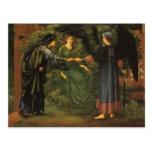 Heart of the Rose - Edward Burne-Jones Postcards