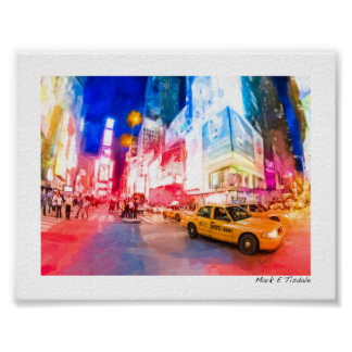 Heart of Times Square - NYC - Mini Poster