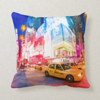 Heart of Times Square - NYC Throw Pillow