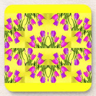 Heart of Tulips Design Coaster
