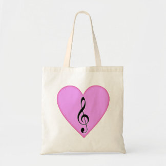 Heart o'G Clef Bags