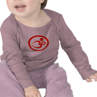 Heart Om Sign - Baby Yoga Clothes T-shirt
