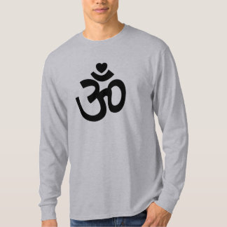Heart Om Sign - Long-Sleeve Yoga Tee