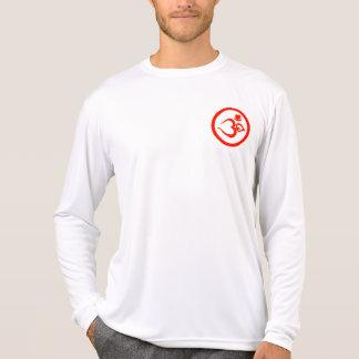 Heart Om Sign - Microfiber Yoga Shirt (Men)