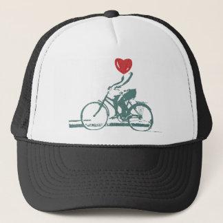 Heart On Bikes Trucker Hat