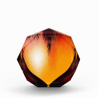 Heart on Fire! Acrylic Award
