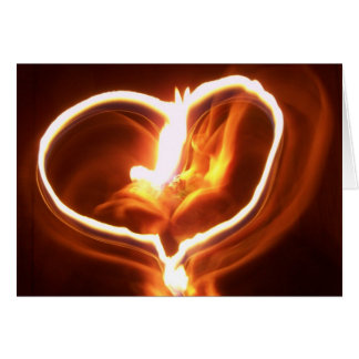 heart on fire card