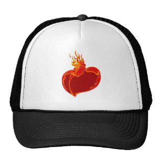 Heart on Fire Hat