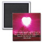 Heart on Fire - Magnet