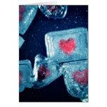 Heart on Ice Card