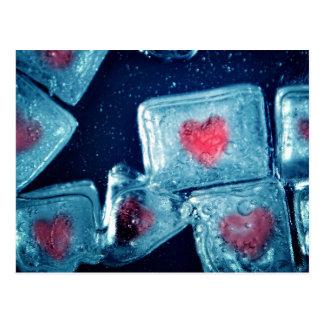 Heart on Ice Postcard