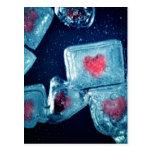 Heart on Ice Postcards