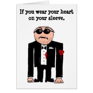 Heart on your sleeve card