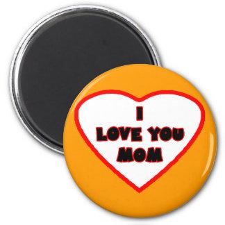 Heart Orange Bright Transp Filled The MUSEUM Zazzl Magnet