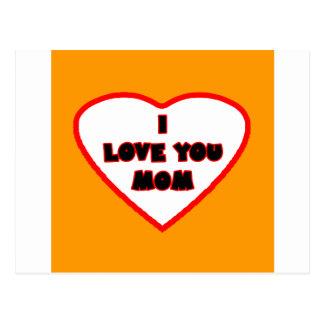 Heart Orange Bright Transp Filled The MUSEUM Zazzl Postcard