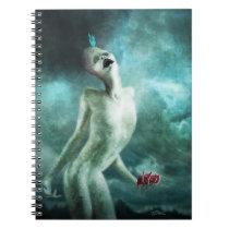 Heart Organ Eater Creature Notebook