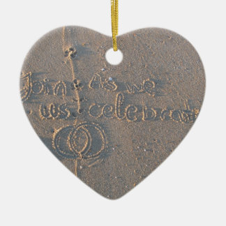 Heart Ornament Invitation