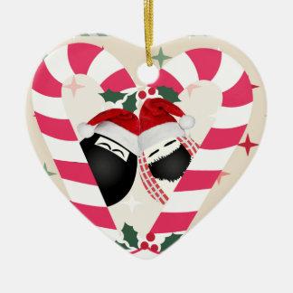 Heart Ornament Merry Christmas HABIBI