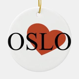 Heart Oslo Christmas Tree Ornaments