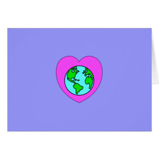 Heart Our Planet Card