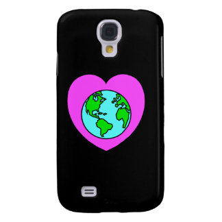 Heart Our Planet Galaxy S4 Covers