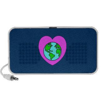 Heart Our Planet Portable Speaker